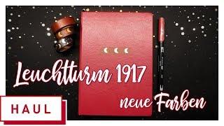 [ Haul ] das neue Bullet Journal von Leuchtturm1917 in Port Red