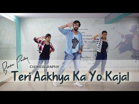 Teri Aakhya Ka Yo Kajal | Dance Cover | Bhaskar Pandey Choreography