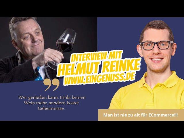 Interview: Helmut Reinke von EinGenuss.de 🥇  Mit 72 Jahren einen WooCommerce Onlineshop gebaut!