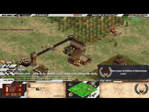 Age of empires II - Expert Players - Liereyy Vs 5cm - ARABIA - CHINESE WAR