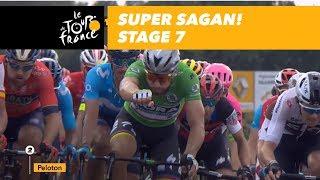 Super Sagan! - Stage 7 - Tour de France 2018