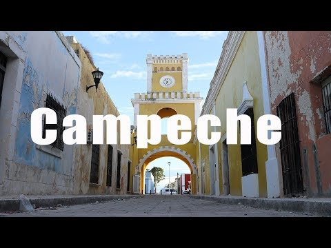 Campeche, Mexico | Canon 80D | Virtual Trip