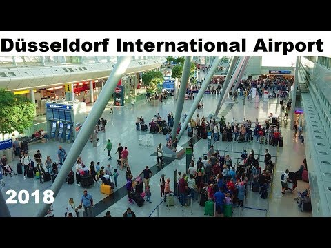 Düsseldorf International Airport Germany 2018