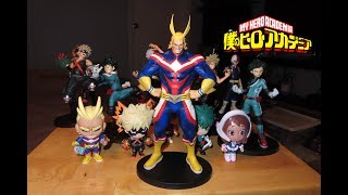 Banpresto ALL MIGHT My Hero Academia Crane King PVC figure unboxing & review! AGE OF HEROES!