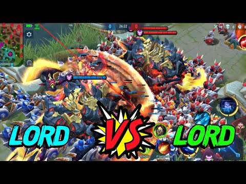 MOBILE LEGENDS LORD VS LORD | MOBILE LEGENDS RED VS BLUE TEAM