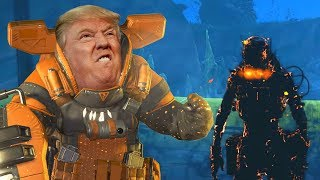 Protect the President Against the ZOMBIES in Apex Legends