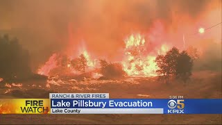 WILDFIRE ROUNDUP: More evacuations ordered in Lake County; other updates on the California wildfire
