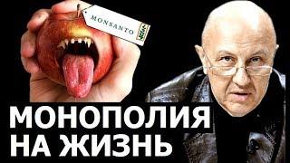 В руках монополиста на еду окажется право на жизнь. Андрей Фурсов.