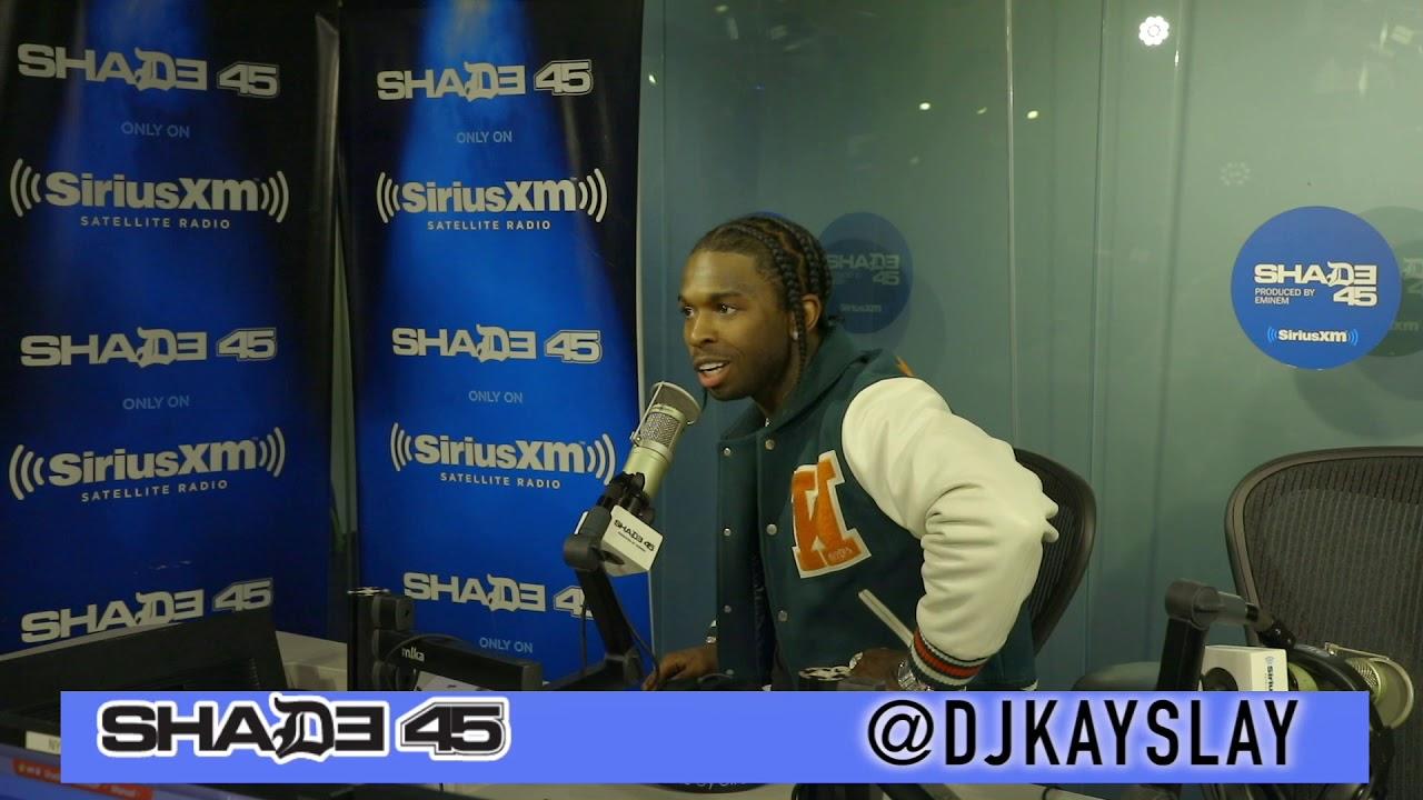 Pop Smoke interview with Dj Kayslay at Shade45