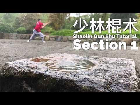 Shaolin Contemporary Staff Tutorial 1