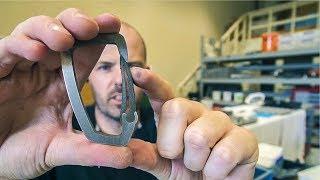 Titanium Carabiner Testing (NEW project)