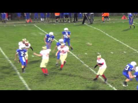 Anthony Walters Hard Hit  McCort vs  Bedford Game Sept 26 2013