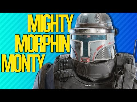MIGHTY MORPHIN MONTY | Rainbow Six Siege