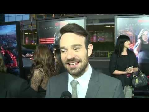 """Netflix's Daredevil: Charlie Cox """"Matt Murdock"""" Exclusive Premiere Interview"""