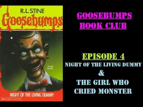 goosebumps night of the living dummy book report
