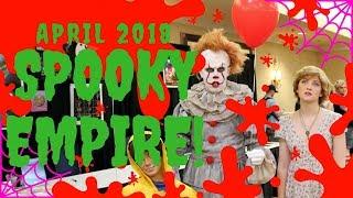 FamilyBarrettFun: Spooky Empire Orlando, FL 2018! (04/07/18)