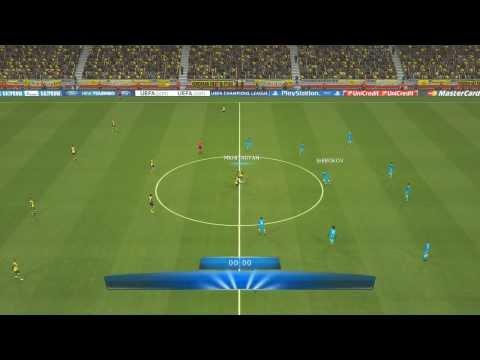 PES14  Champions League Achtelfinale RS Borussia Dortmund vs Zenit St. Petersburg   Saison13/14