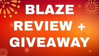 Blaze Review ⭐️ Free Giveaway ⭐️ $408.07 in 45min ⭐️