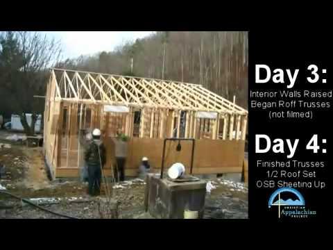 Casa di 60 metri quadrati costruita in 6 giorni youtube for Casa di 1200 metri quadrati