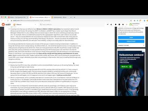 Bitcoin Reddit Overview