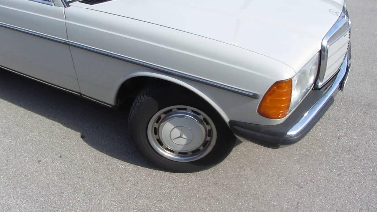 Mercedes Benz 240 D W123 Bj 1979 Ex Suditalien Oldtimer Youtube
