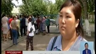 Школа п. Кызыл жар Карагандинской области после наводнения осталась без ремонта