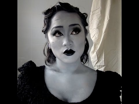 Black and white grayscale makeup tutorial detox icunt inspired