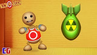 ANTISTRESS VS NUCLEAR BOMB! Destroy in any way the game Kick the Buddy