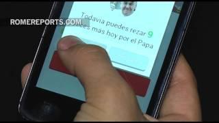 Una aplicación pide oraciones por el Papa con la voz de Francisco | Tecnología