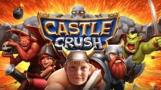 КАСЛ КРАШ CASTLE CRUSH НОВЫЕ КАРТЫ И СУНДУКИ! Игры для ДЕТЕЙ брос шоу геймс 12+