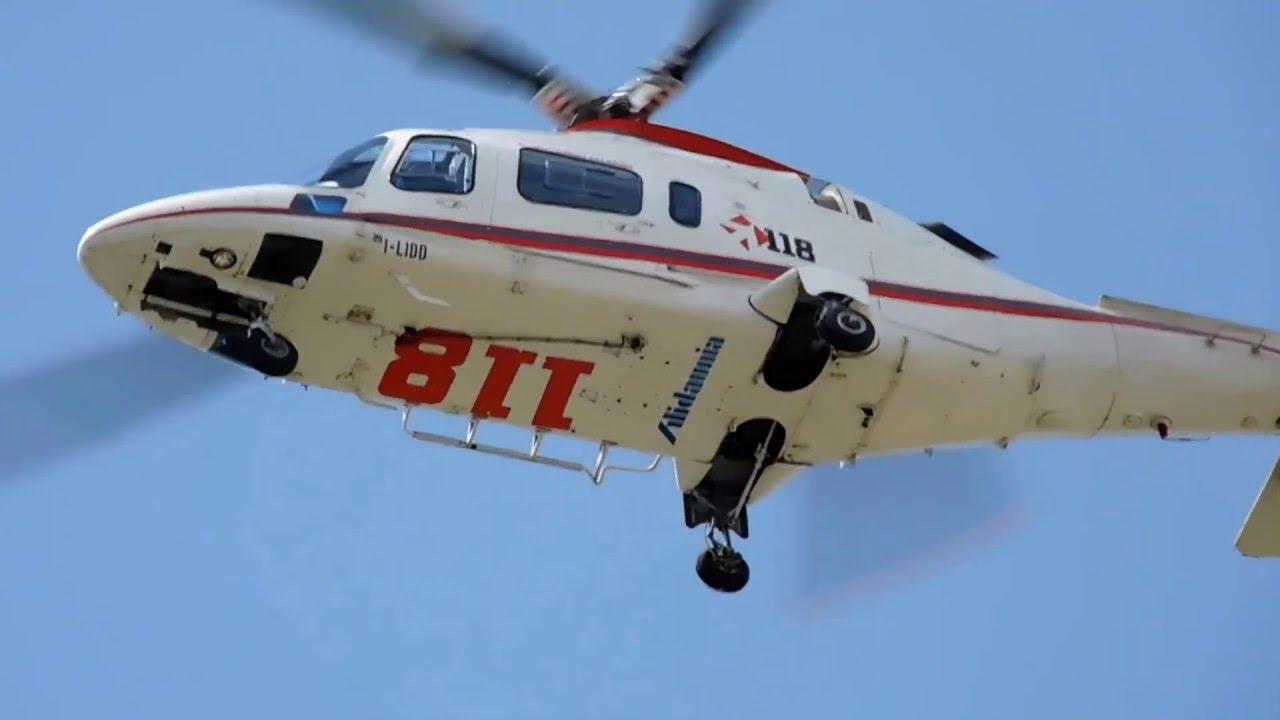 Elicottero 118 : Elisoccorso ospedale rummo benevento youtube