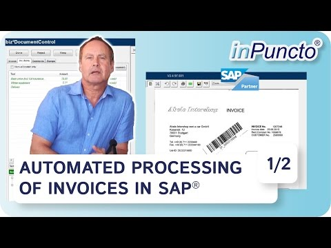 Easy way for automated processing of invoices in SAP | With