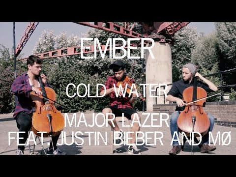 Cold Water - Major Lazer Feat. Justin Bieber And MØ Violin Cello Cover Ember Trio