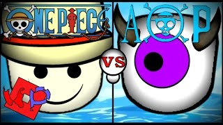 Roblox One Piece vs One Piece: The Age of Pirates