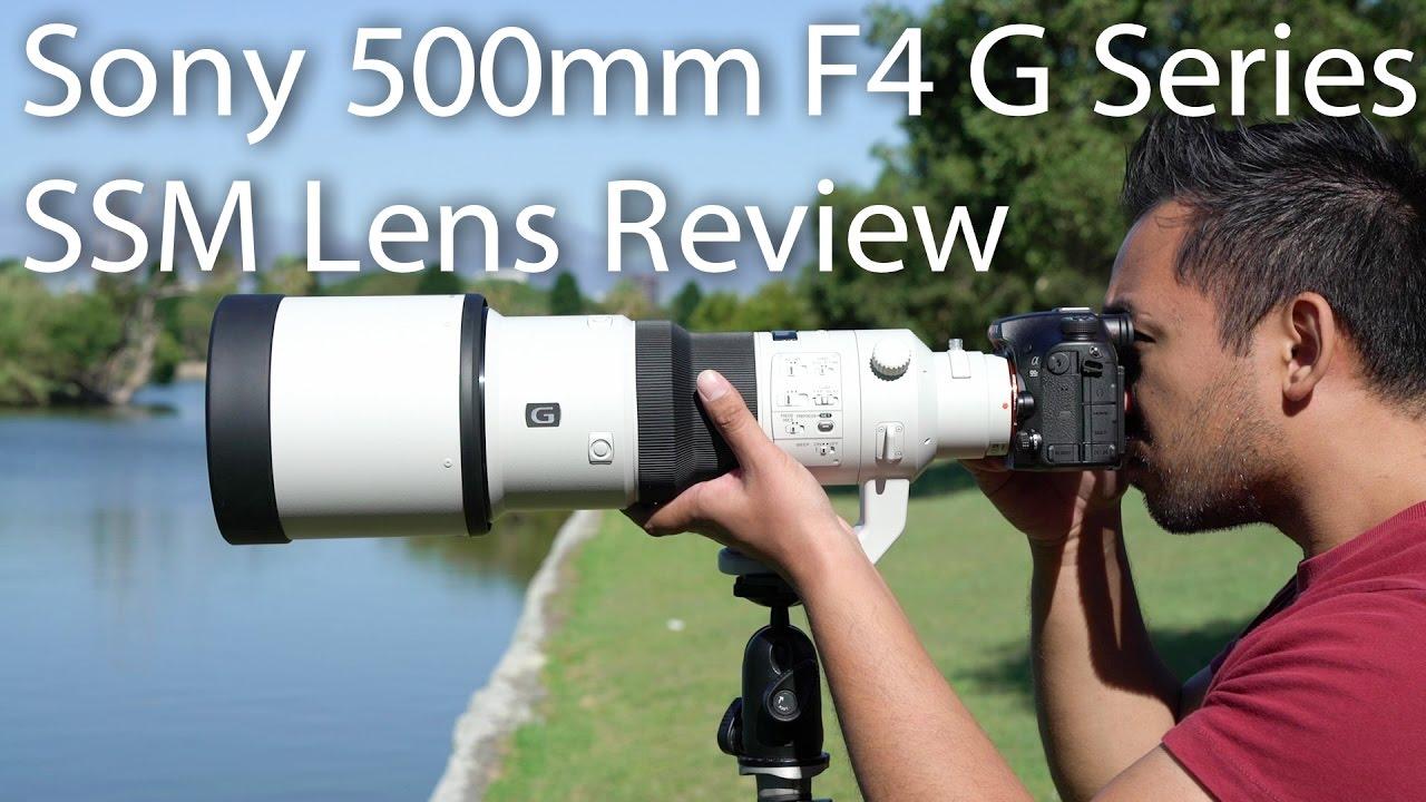 Sony 500mm F4 G Series SSM Lens Review | John Sison