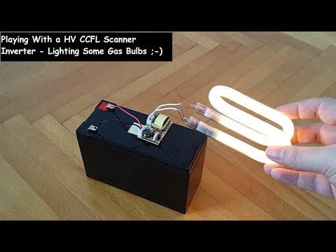 CCFL Inverter HV Arching - Neon Bulb, CFL & CCFL Tube