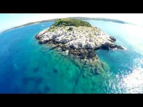 Croatia Summer | Korčula | Adriatic Sea | Holidays in Croatia | Mediterranean | Aerial video | 4K