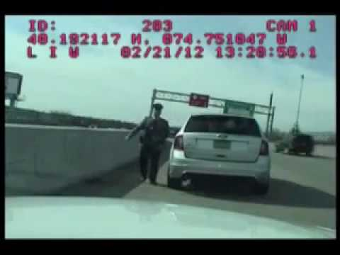 Police video of Assemblyman Albano's stop by state trooper