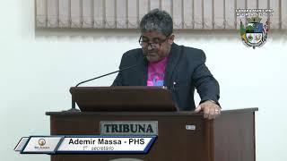 33ª Sessão Ordinária - Vereador Ademir Massa