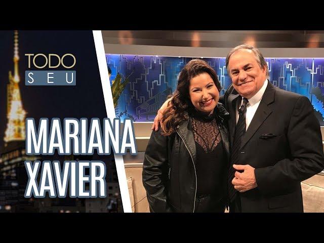 Bate-papo sobre padrões com a atriz Mariana Xavier - Todo Seu (16/07/18)