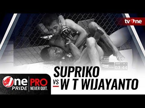 [HD] Supriko vs Wahyu Tri Wijayanto - One Pride Pro Never Quit #21 Mp3