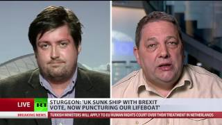 'We don't need to play by Westminster rules'  Opinions on IndyRef2 collide (DEBATE)
