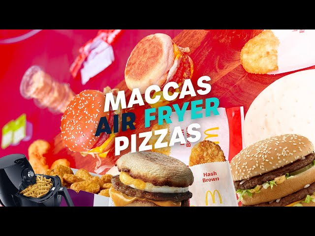 We Made Maccas Air Fryer Pizza And Here's How It Went | Gawndy & Maz