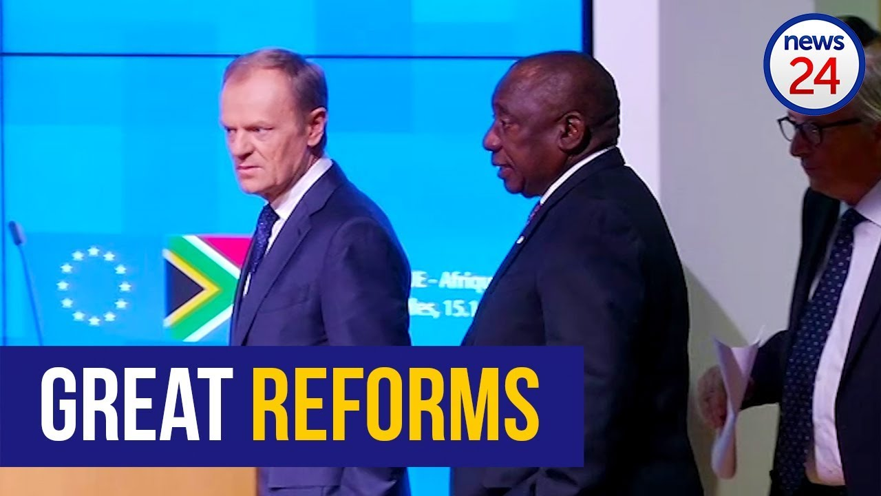 WATCH: Ramaphosa calls on EU to lift sanctions still in place against Zimbabwe