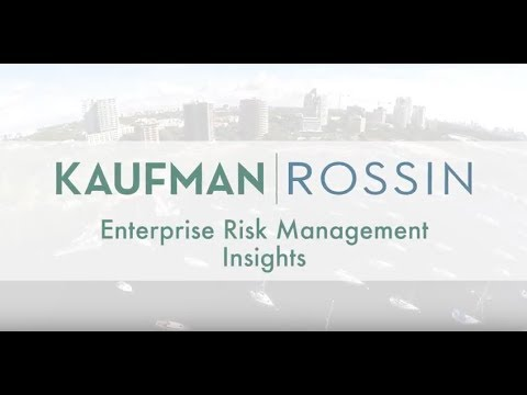 Enterprise Risk Management Insights