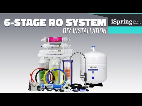 iSpring Reverse Osmosis Installation (with English subtitle)