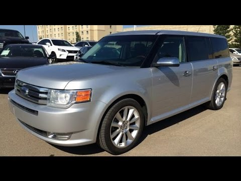 pre owned silver on black 2010 ford flex 4dr limited awd w/ecoboost
