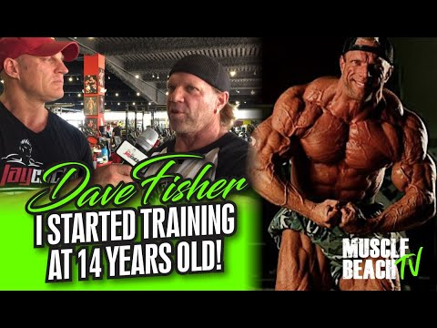 DAVE FISHER-I STARTED TRAINING AT 14 YEARS OLD! MUSCLE BEACH TV.