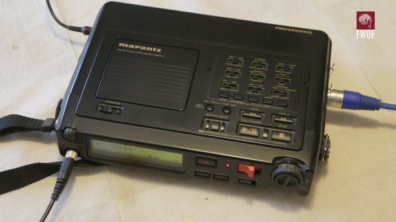 marantz pmd670 solid state field recorder youtube rh youtube com Marantz PMD Marantz PMD670 Battery Pack