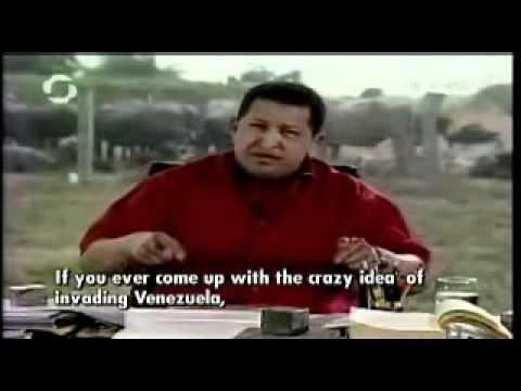 hugo Chavez humiliate bush in public